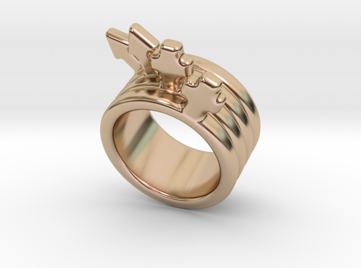 Love Forever Ring 27 - Italian Size 27 3d printed