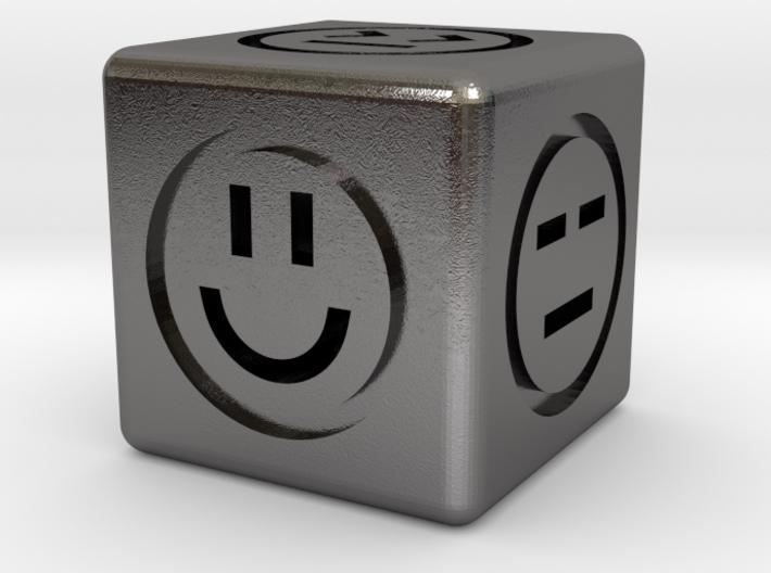 Emotional Dice (6 Sides) 3d printed