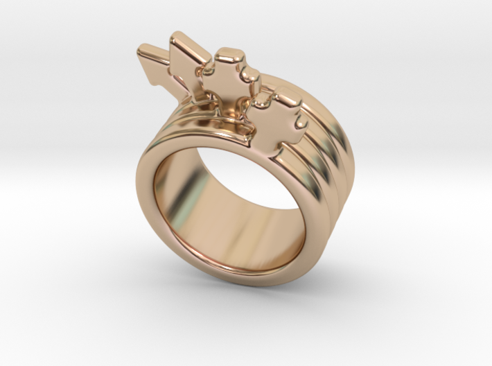 Love Forever Ring 29 - Italian Size 29 3d printed