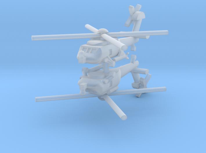 1/400 MH-60R Seahawk (x2) 3d printed