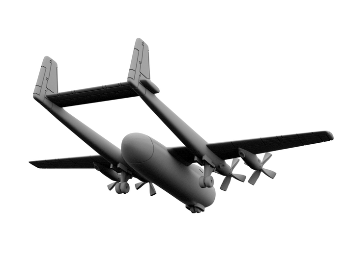 1:500 - Armstrong Whitworth Argosy [A][x2] 3d printed