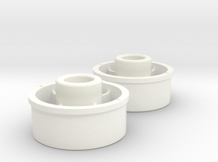 Kyosho Mini-Z Front Wheel +3 Offset 3d printed