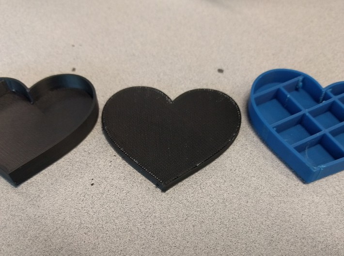 Valentine's Card-Making Box 3d printed