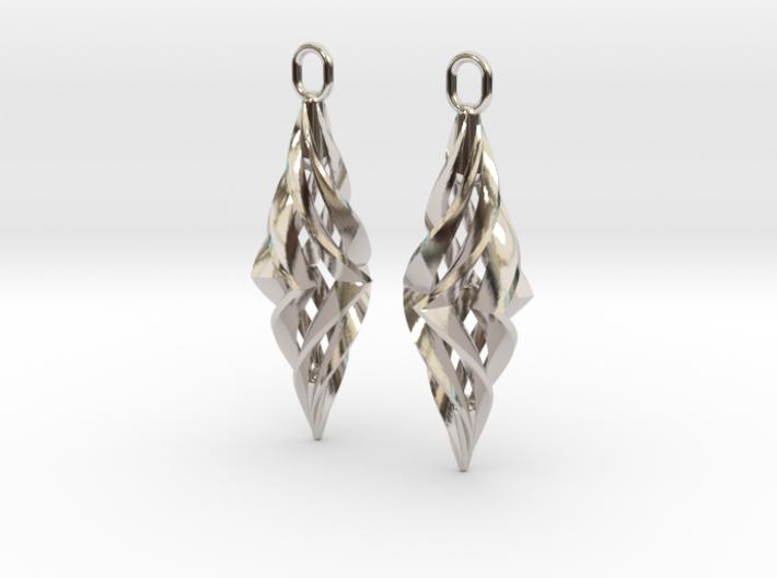 Vision Earrings 3d printed