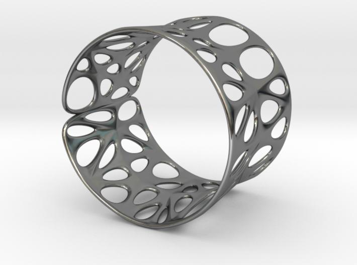 Catenoid Voronoi Bracelet 3d printed Catenoid Voronoi Bracelet