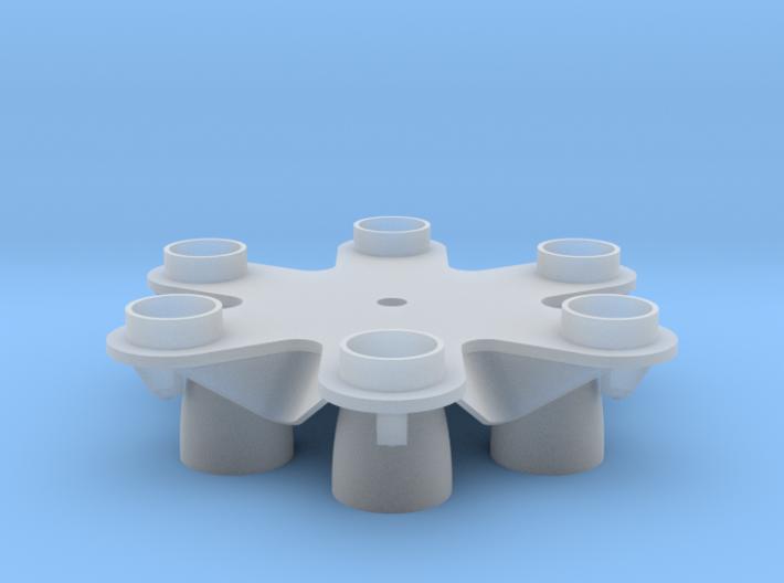 Proton Rocket Base 3d printed