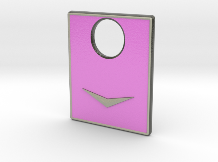 Pinball Plunger Plate - Cadillac Car Bonnet - Pink 3d printed