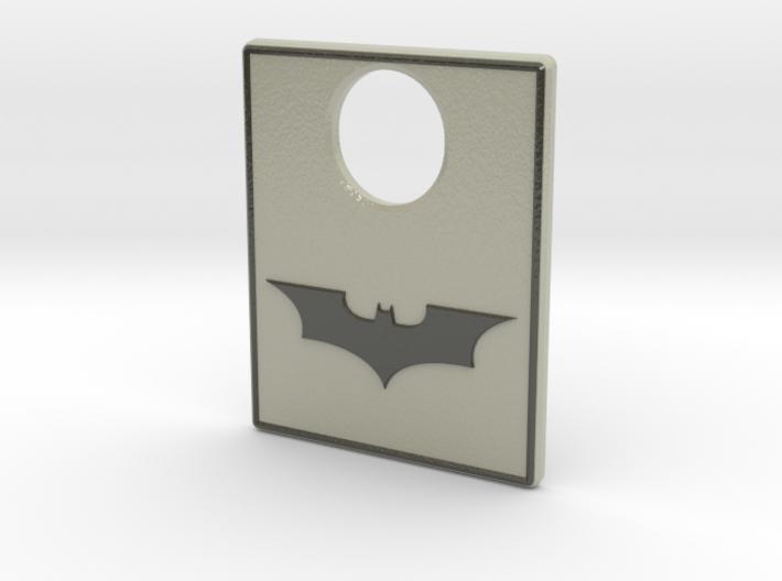 Pinball Plunger Plate - Dark Knight 3d printed