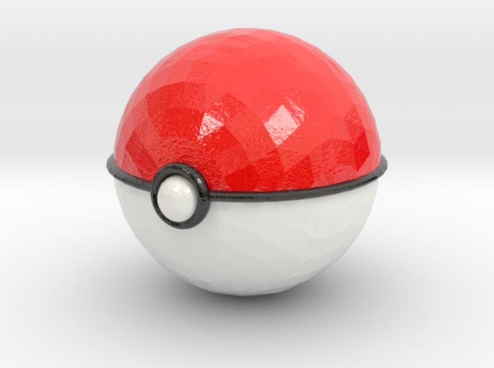 Pokeball (small) 3d printed