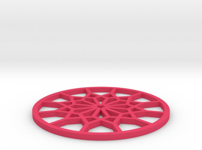 Coaster-4 3d printed