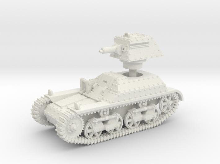 Vickers Light Tank Mk.IIb (15mm scale) 3d printed