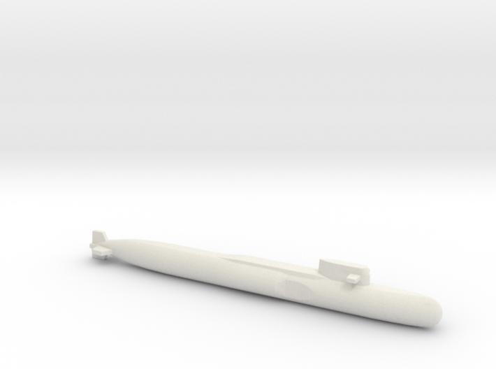 Yankee Notch - Class SSBN, Full Hull, 1/2400 3d printed