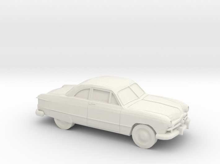 1/87 1949 Ford Fordor Coupe 3d printed