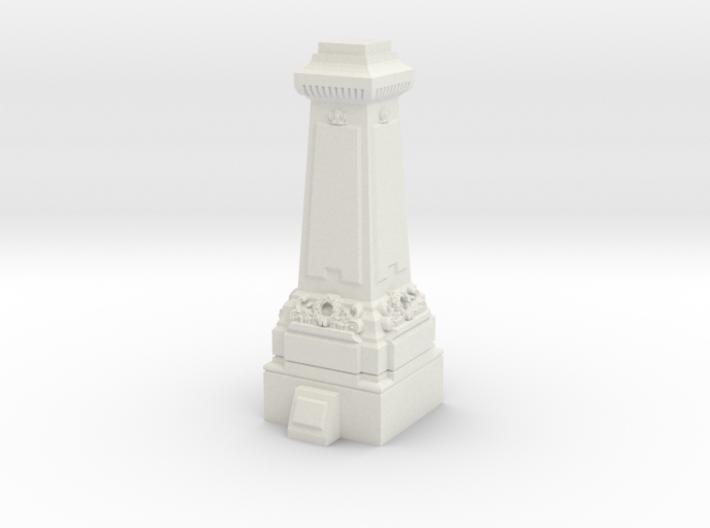 HO/OO Gauge Statue Plinth 3d printed
