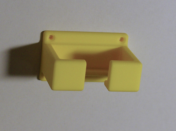 Razor rack for a double edge safety razor 3d printed