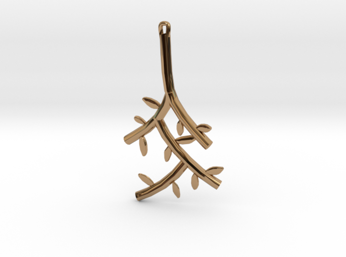 Branch Pendant 3d printed