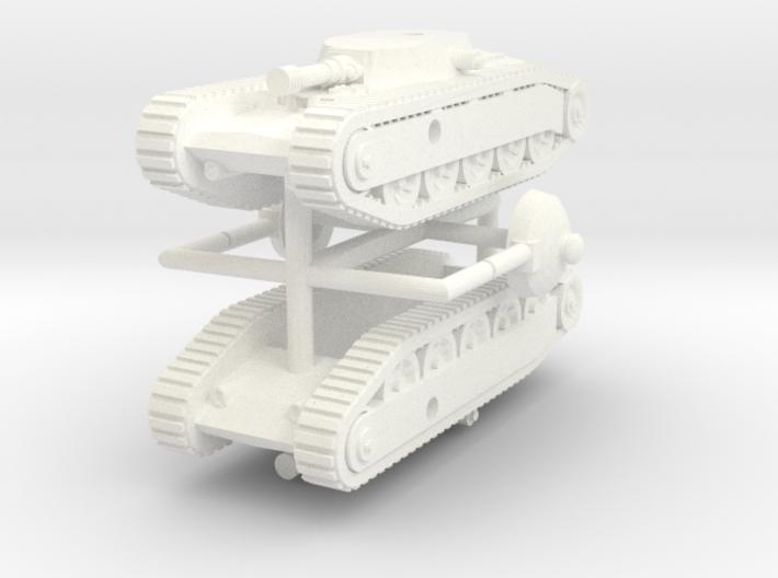 1/285 Tank Grotte (TG-1) x2 3d printed