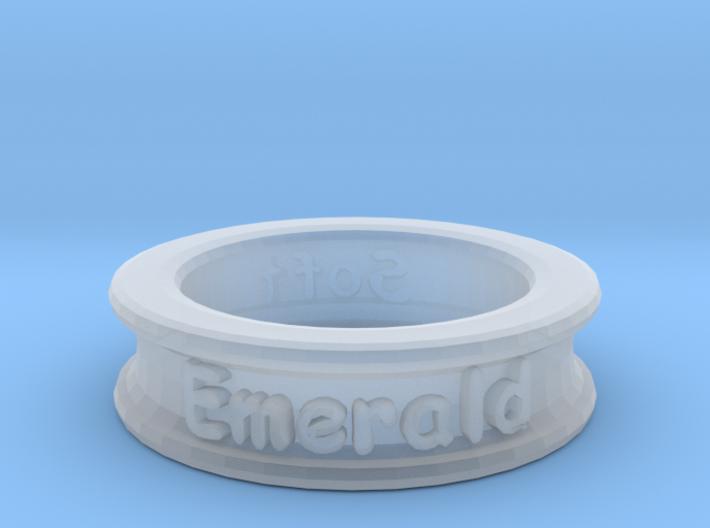 Name-Ring 3d printed