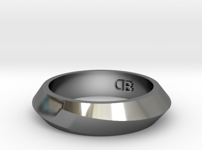 Infinity Ring - Size 7 3d printed