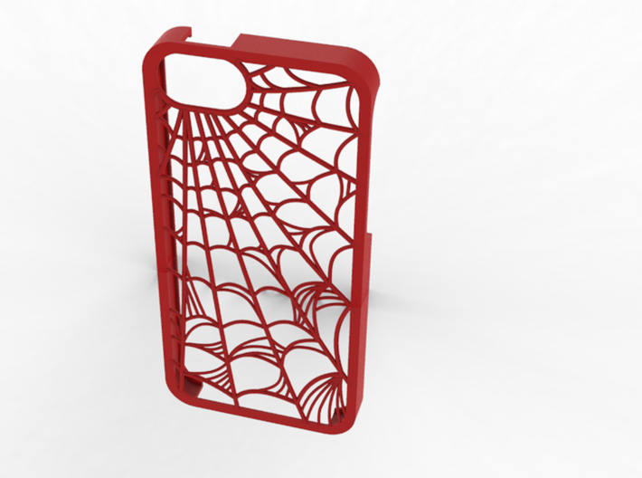 Webbed: Case for Iphone 5S 3d printed