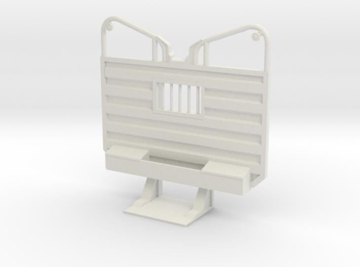 1/32 Detailed Waffle type Cab Guard Headache Rack 3d printed