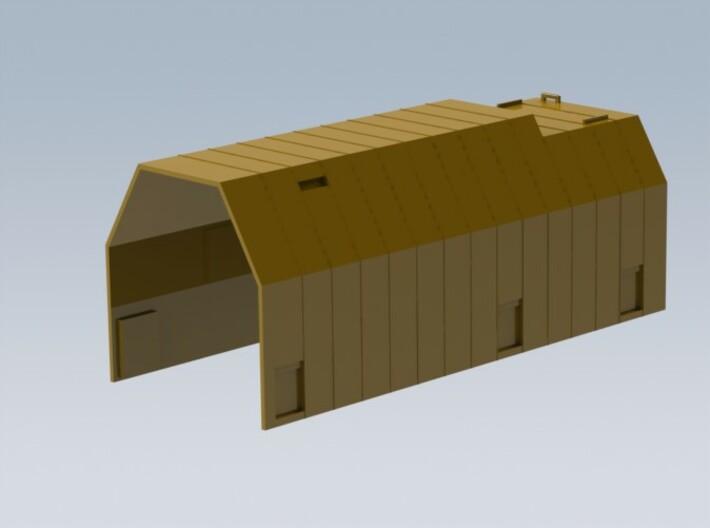 HO 1/87 Boeing Railcar Hood #1 3d printed