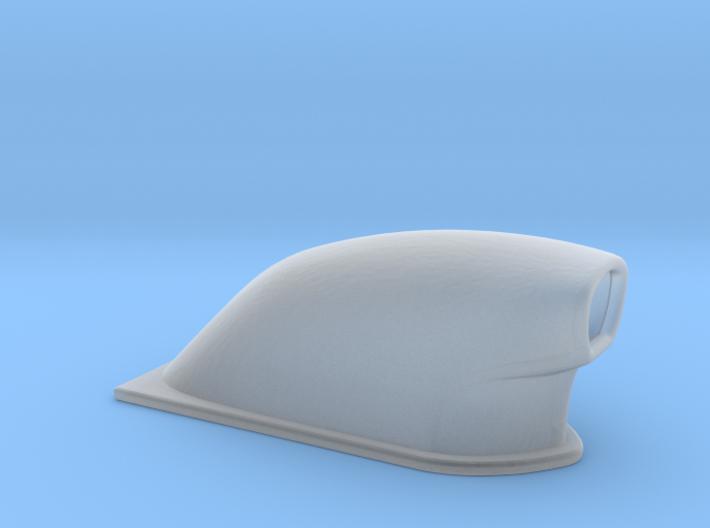 1/64 Small Pro Mod Hood Scoop 3d printed