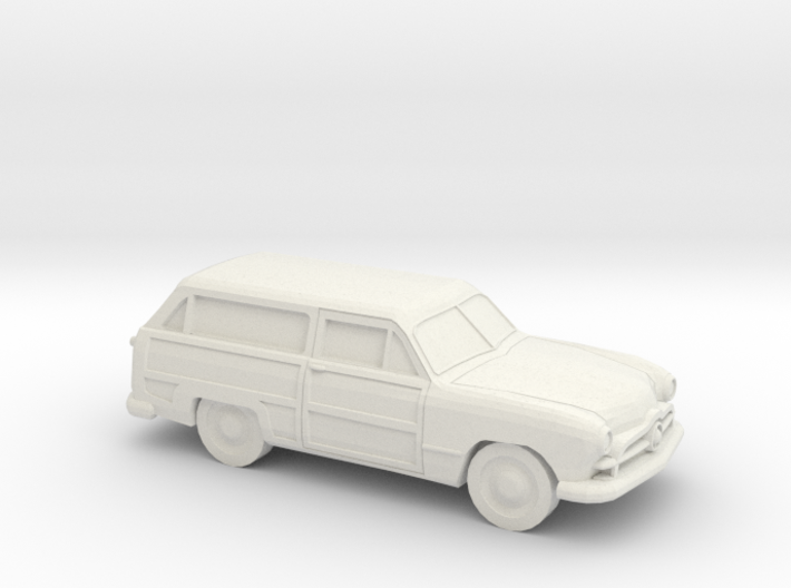 1/87 1949 Ford Fordor Station Wagon 3d printed