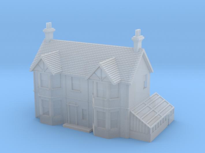 1:700 Scale English Farm House 3d printed