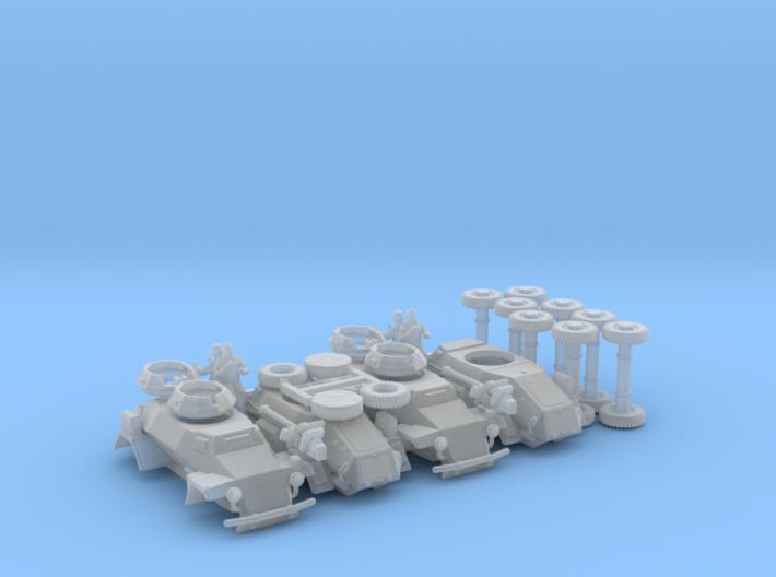 Sd.Kfz 221 (4 pack) 3d printed