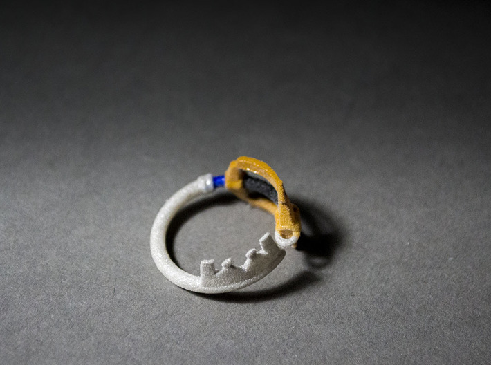 Kingdomblade Ring 8.5 3d printed