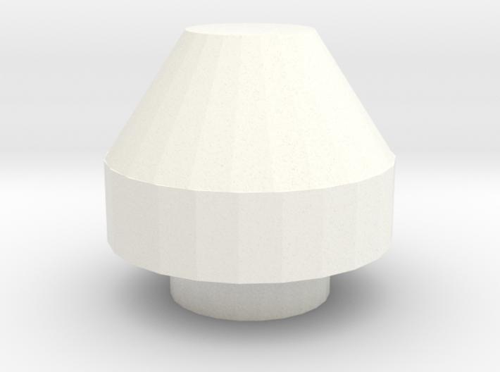 Snorkel air intake cap small D90 Gelande 1:10 3d printed