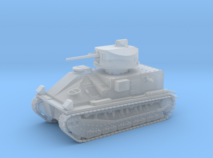 Vickers Medium Mk.II (1/144 scale) 3d printed