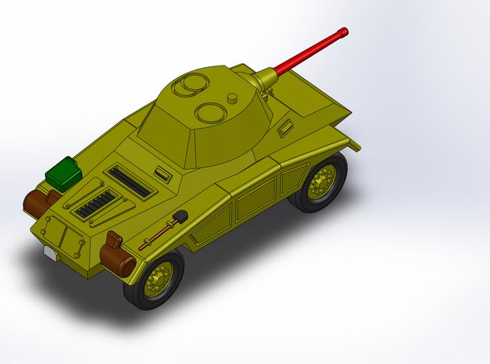 Le Panzerspähwagen 4-Rad Kanone 1/285 6mm 3d printed
