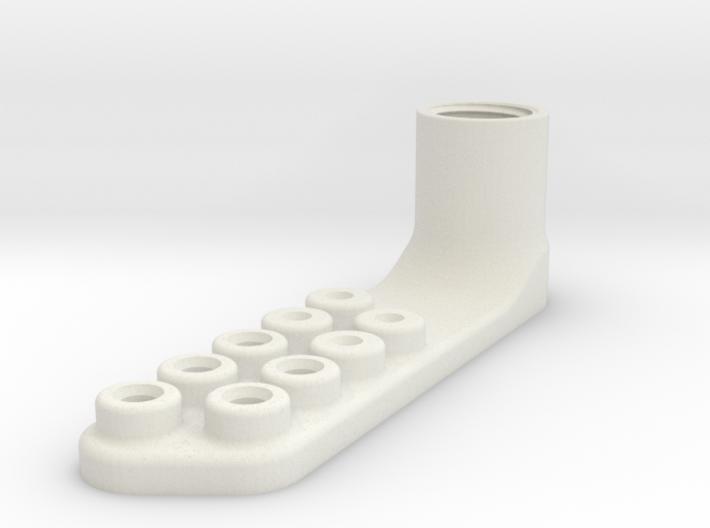 Bullnose Prop Cutter 3-7in 3d printed