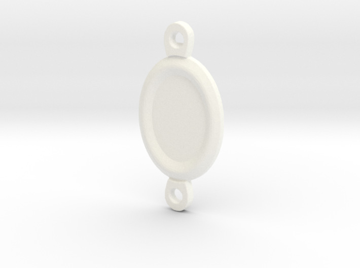 Margaery Necklace little circles 3d printed