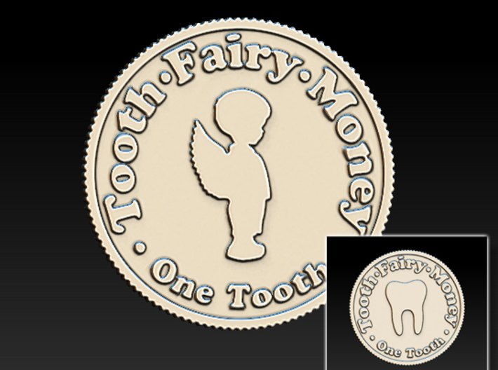 Tooth Fairy Money 3d printed