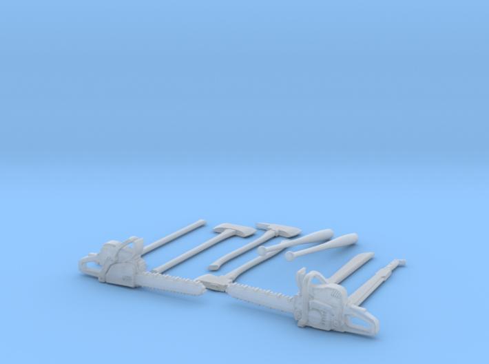1-32 Zombie Tools Set 1 3d printed