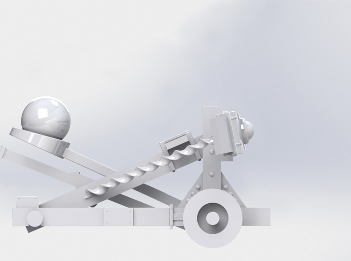 Catapult 3d printed motion 1