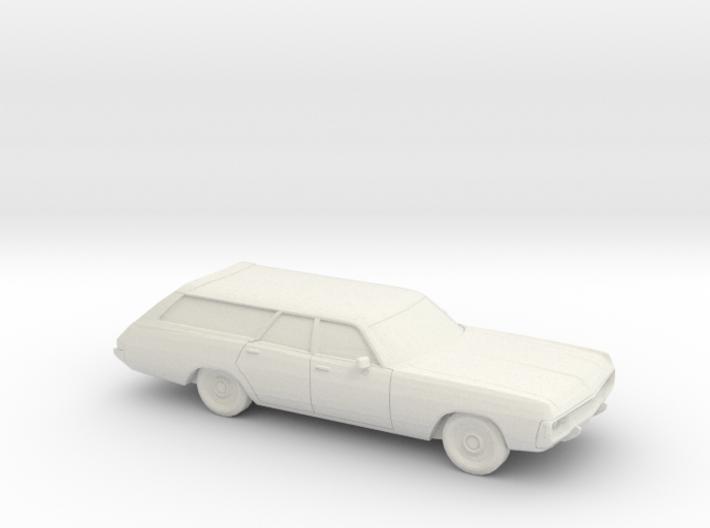 1/87 1971-72 Dodge Polara Station Wagon 3d printed