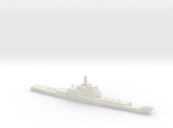 Aegis and VLS refitted Long Beach, 1/1250 3d printed