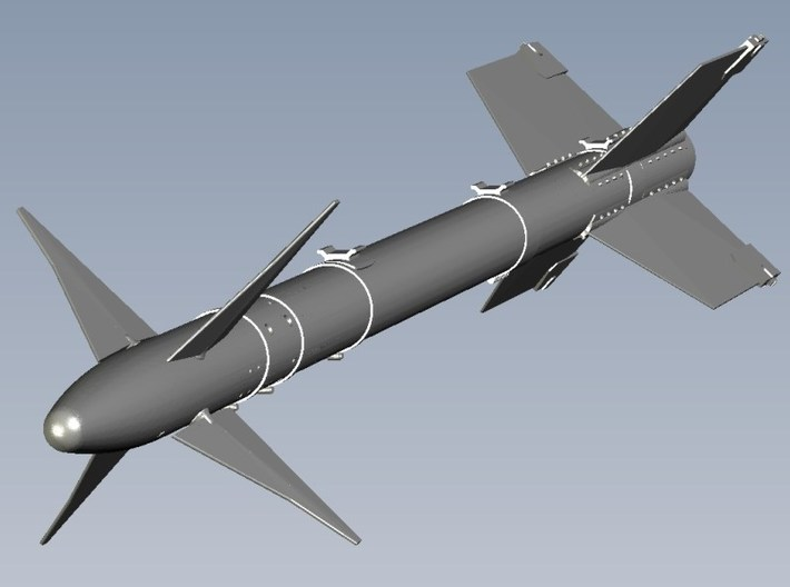 1/18 scale Raytheon AIM-9L Sidewinder missiles x 3 3d printed