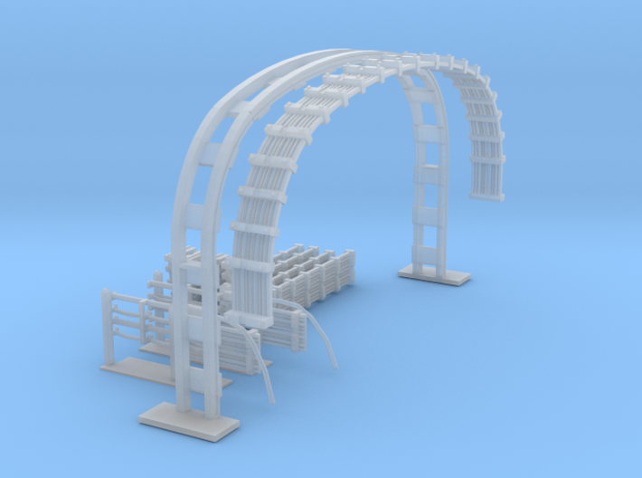 LU Cable Gantry 3d printed