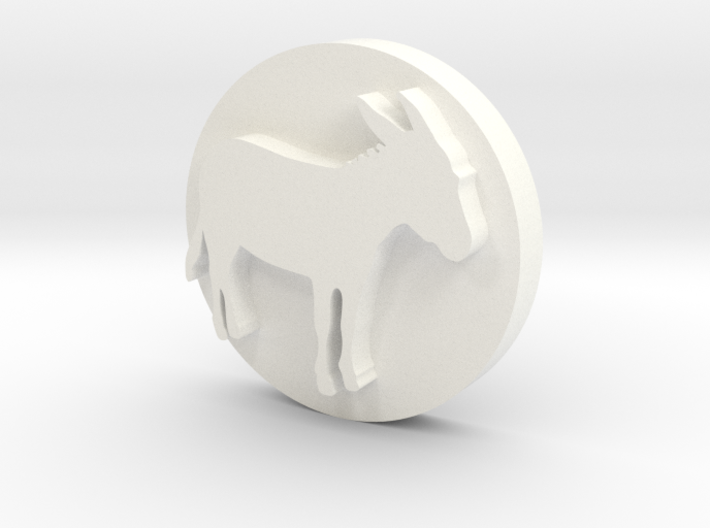 Donkey Soap Stamp 3d printed