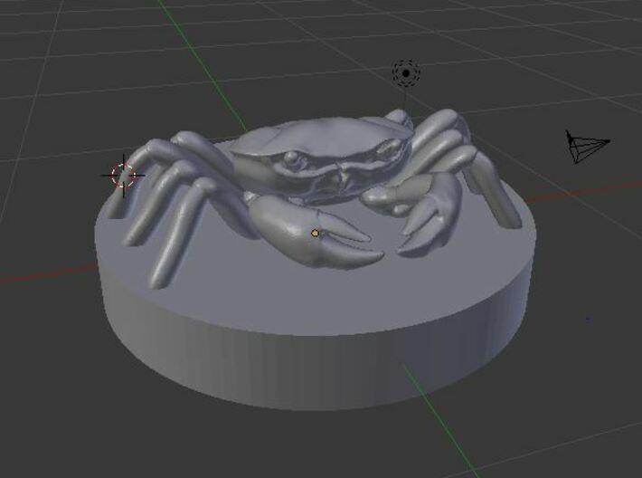 Crab 3d printed