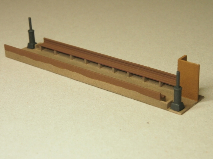 Interior for HOn30 Coach D, with benches 3d printed