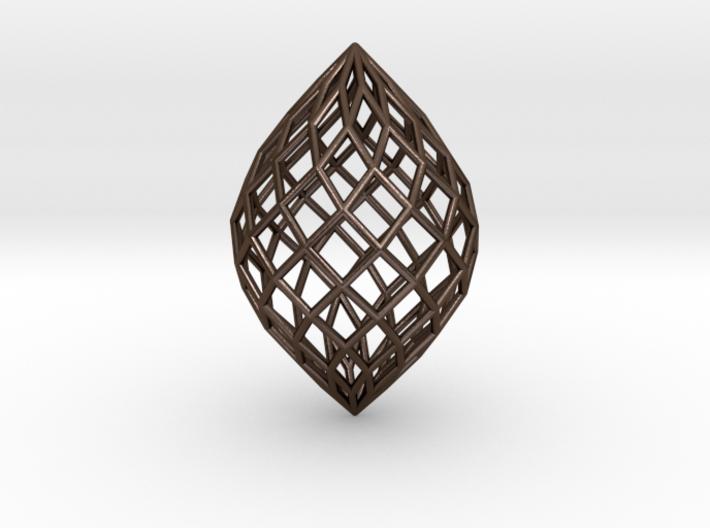 0513 Polar Zonohedron E [11] #001 3d printed