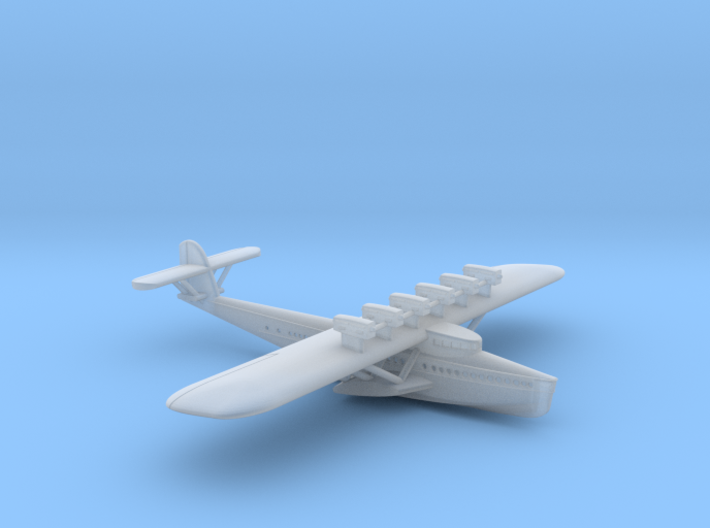 Dornier Do X  1/700th scale 3d printed