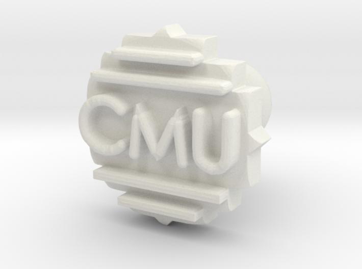 Cufflink Final 3d printed