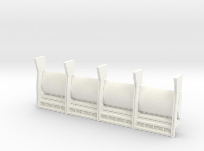 REAR WALL DEAGOSTINI FALCON CARGO BAY 3d printed